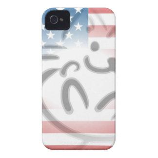 cat flag Case-Mate iPhone 4 cases