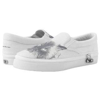 Cat Flat Top Sneakers Shoes