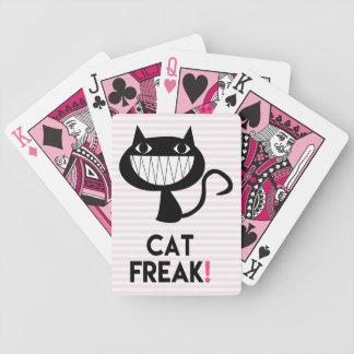 Cat Freak! Fun Bicycle® Poker Playing Cards