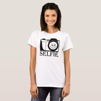 Cat Funny Selfie T-Shirt