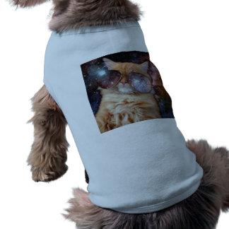 Cat Glasses - sunglasses cat - cat space Shirt