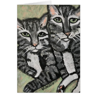 Cat Greeting Card (Customizable)