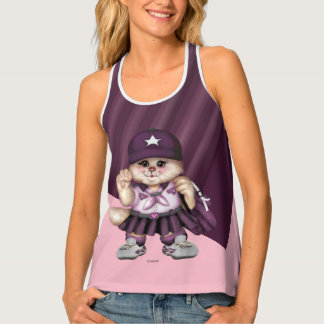 CAT GRIL SCOUT AllOver Print Racerback Tank Top 2