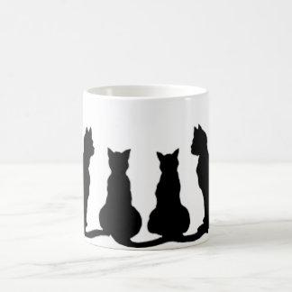 Cat group coffee mug