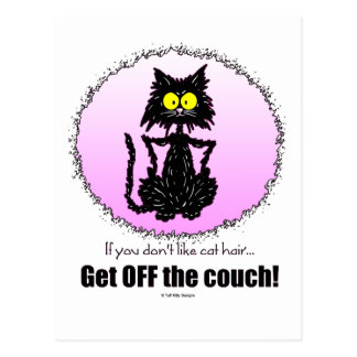 Cat Hair...Gifts for Cat Lovers Postcards