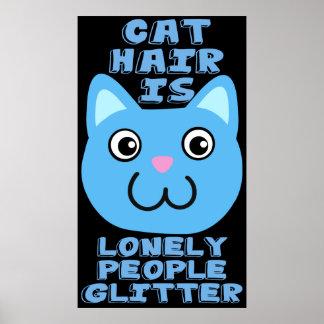 Cat Hair Poster