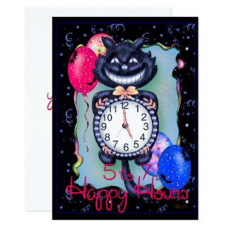 "CAT HALLOWEEN 4.5"" x 6.25"" Card"