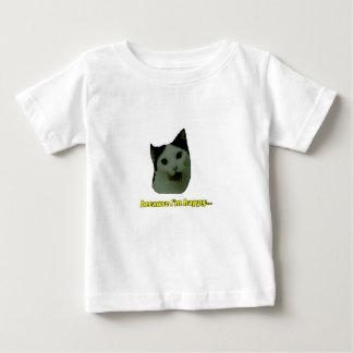 Cat Happy Face Baby T-shirt