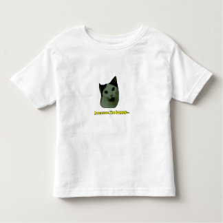 Cat Happy Face Toddler T-shirt