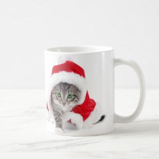 Cat-hat for Christmas Coffee Mug