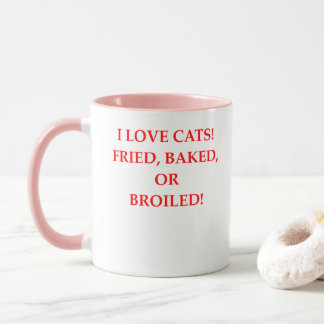 cat hater mug