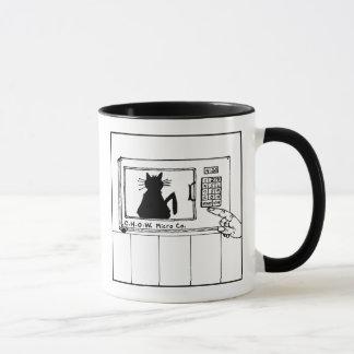 Cat Haters Microwave Cartoon Mug