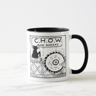 Cat Haters Sawmill Cartoon Mug