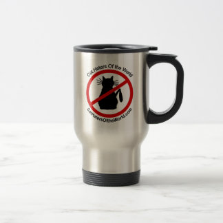 Cat Haters Travel Mug