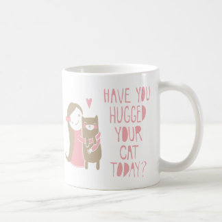Cat Hug Coffee Mug