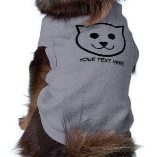 Cat Illustration custom pet clothing