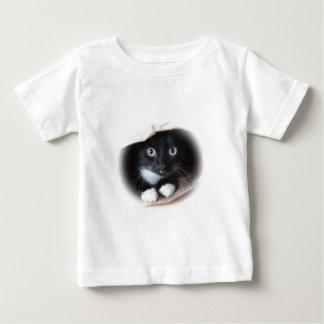 Cat in a bag baby T-Shirt