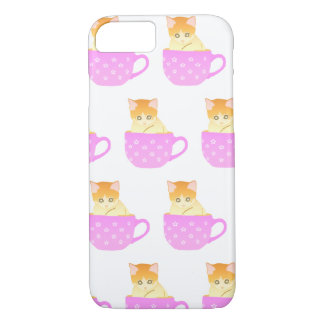 cat in a cup iPhone 8/7 case