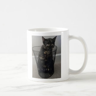 Cat in a Trash Can Coffee Mug