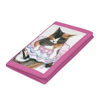 Cat In a Tutu Wallet
