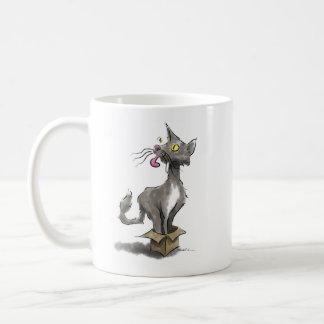 Cat in Box Coffee Mug