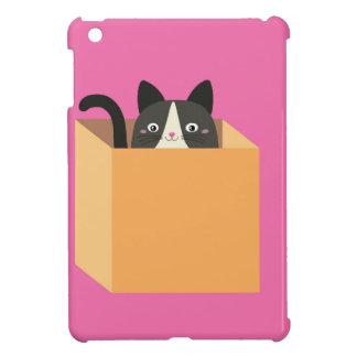 Cat in  box iPad mini cover