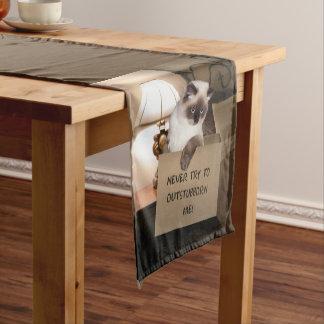 Cat in Box Short Table Runner