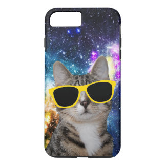 Cat in Outer Space iPhone 7 Plus Case