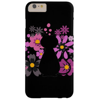 Cat in Pink Flowers IPhone 6+/6S Barely There Case