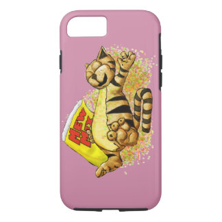 Cat in the Mix iPhone 7 Case