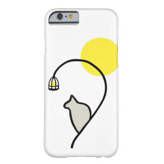 Cat in the Moonlight iPhone Case