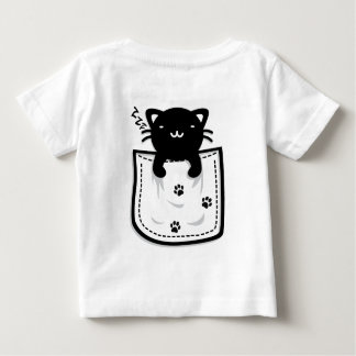 Cat_in_the_Pocket Baby T-Shirt