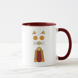 Cat / Kaleidoflower multi Mug