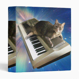 cat keyboard 3 ring binder