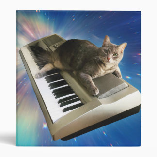 cat keyboard 3 ring binders