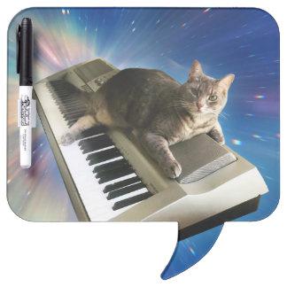cat keyboard dry erase board