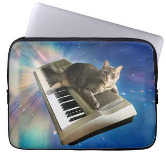 cat keyboard laptop sleeve