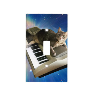 cat keyboard light switch cover