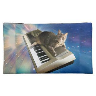 cat keyboard makeup bag