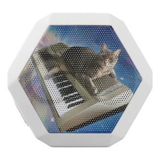 cat keyboard white bluetooth speaker