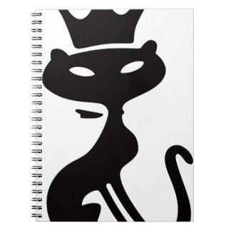 Cat King Notebook