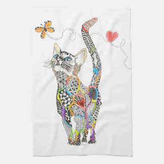 Cat Kitchen Towel (You can Customize)