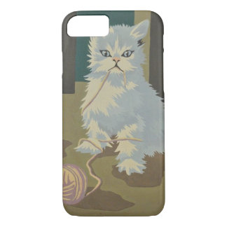 cat kitten cute sweet iphone case paint by numbers