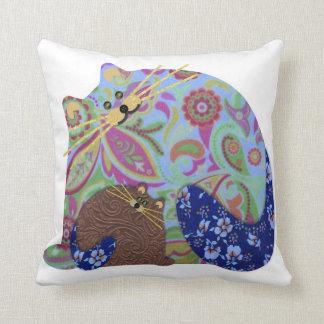 Cat & Kitten Pillow