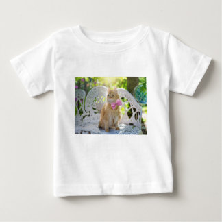 Cat Kitty Feline Summer Sunshine Pet Animal Cute Baby T-Shirt