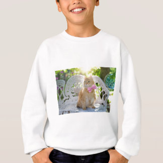 Cat Kitty Feline Summer Sunshine Pet Animal Cute Sweatshirt