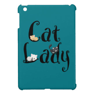 Cat Lady iPad Mini Cases