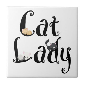 Cat Lady Tile