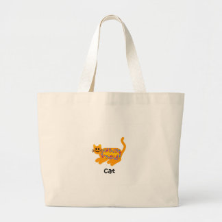 Cat Large Tote Bag