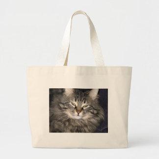 Cat Large Tote Bag